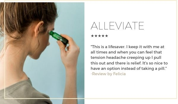 what essential oil helps tension headaches