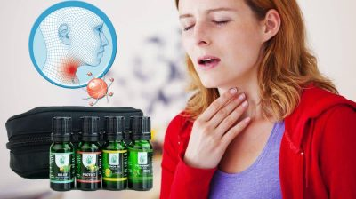 Essential Oil for Throat Pain
