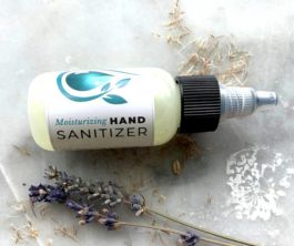 hand sanitizer with essential oils