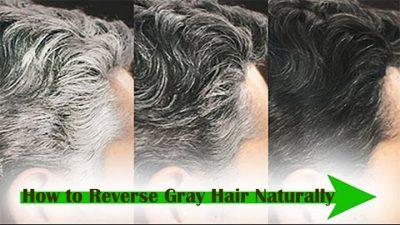 reverse grey hair naturally